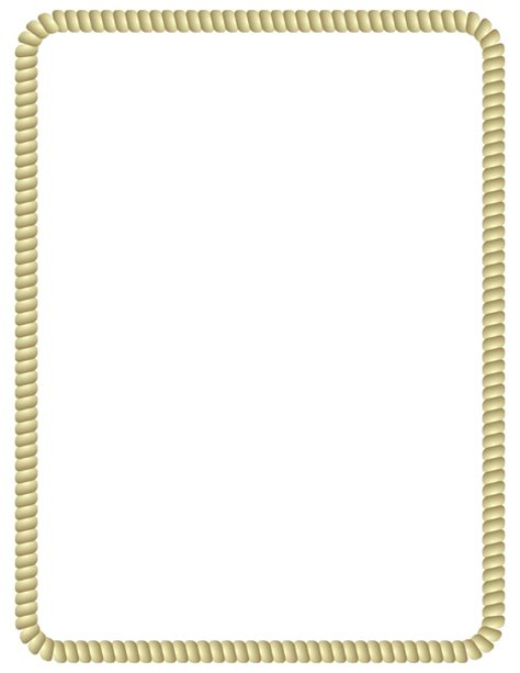 Rope Border by Arvin61r58 - rope border