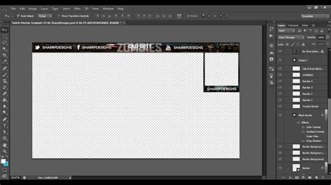 Black Ops 2 Zombies: Twitch Overlay Template #3 | By