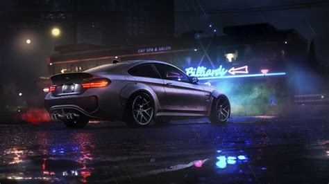 BMW in the rain - cars live wallpaper [DOWNLOAD FREE]