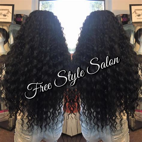 Extensii Afro si Bucle   Free Style Salon