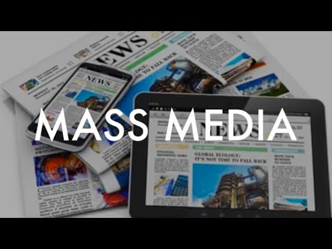 Role of mass media in agriculture