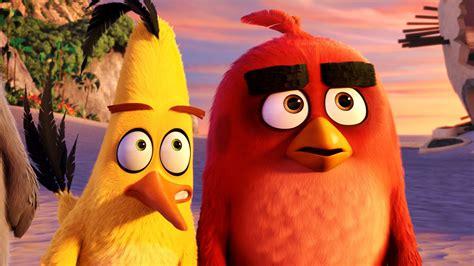 Wallpaper Angry Birds Movie, chuck, red, Best Animation