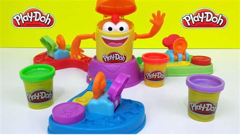 Play Doh Launch Game N Toys Funny Playset - YouTube