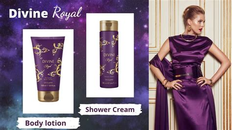Oriflame Divine Royal Perfumed Body Lotion and Shower