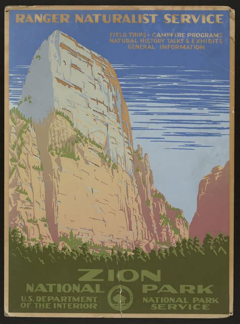 10 Vintage National Park Posters that wanted to cure the