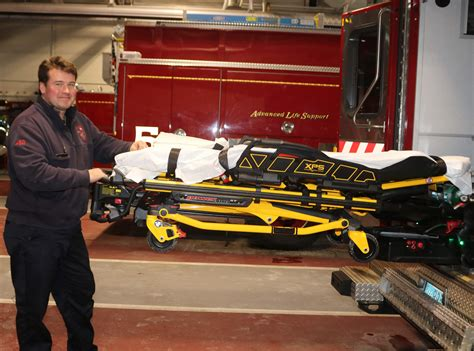 New stretcher good for Somerset firefigher/paramedics and