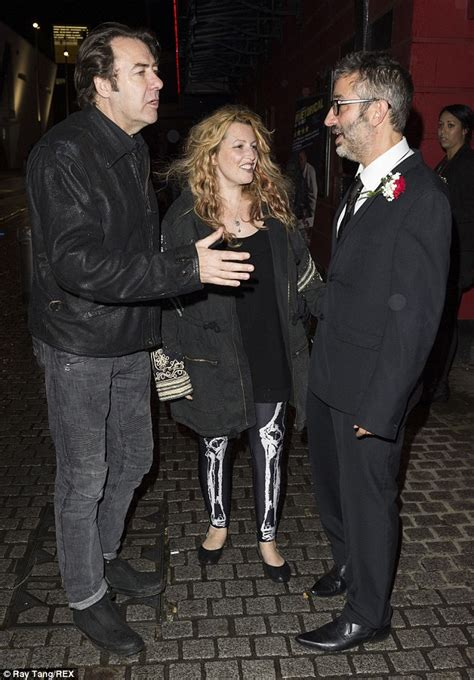 Jonathan Ross and wife Jane Goldman enjoy a night at the