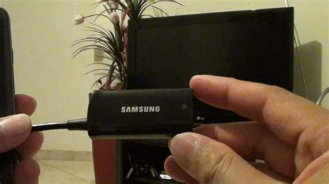Samsung Galaxy S3: Connecting HDTV /MHL Adapter EPL-3FHU