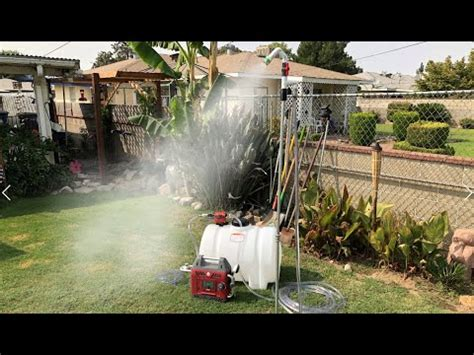 DIY Pressurized Camping Shower 1/2 GPM - YouTube